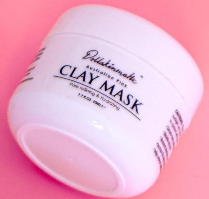 Dollskimetic Skincare Australian Pink Clay Mask