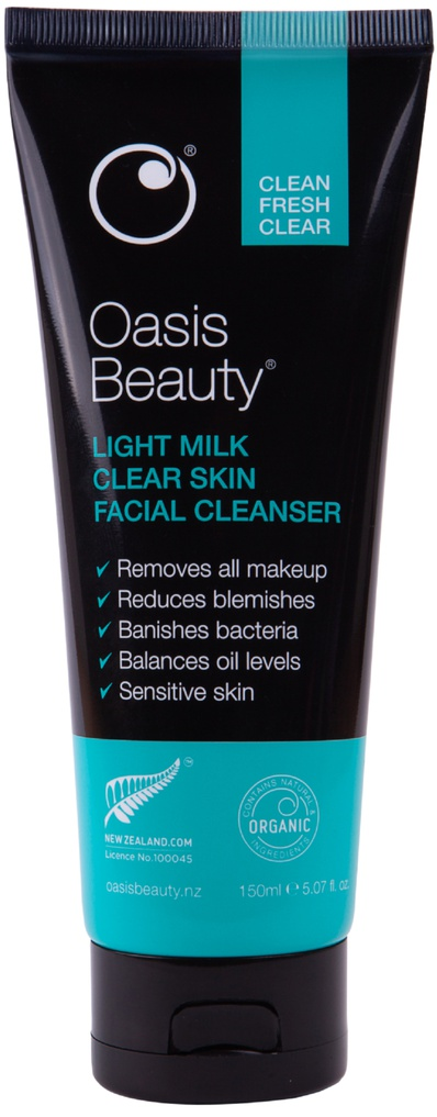 Oasis Beauty Light Milk Clear Skin Facial Cleanser