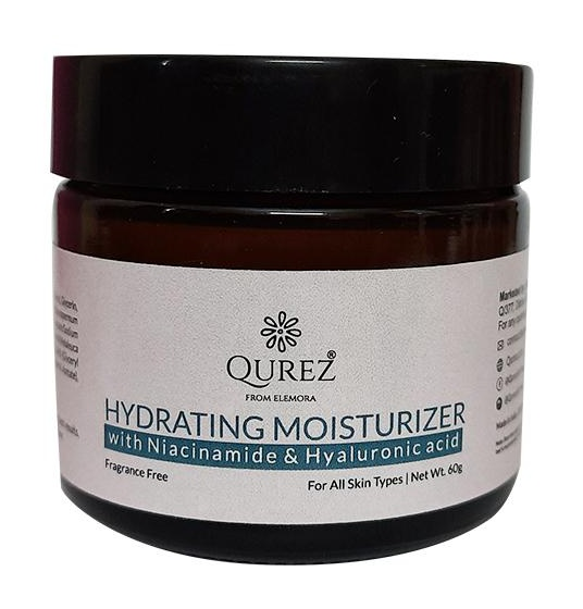 Qurez Hydrating Moisturizer With Niacinamide And Hyaluronic Acid