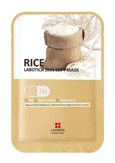 Leaders Insolution Labotica Rice Skin Soft Mask