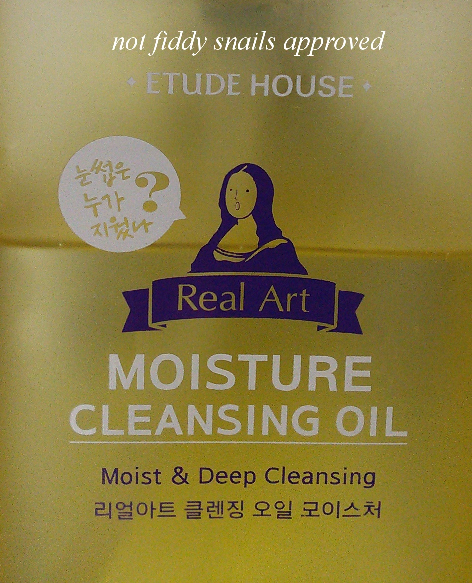 Etude House Real Art Cleansing Oil