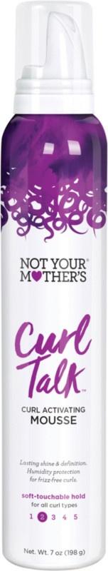 not your mother's Curl Talk Curl Activation Mousse