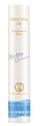 Rohto Mentholatum Melty Cream Lip Spf 25 Pa+++ Fragrance Free