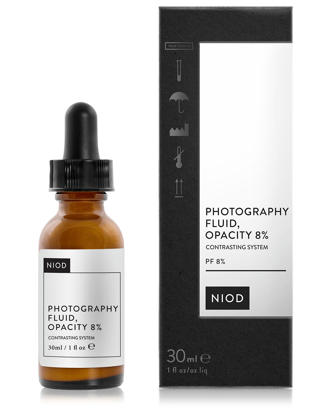NIOD Photography Fluid, Opacity 8%