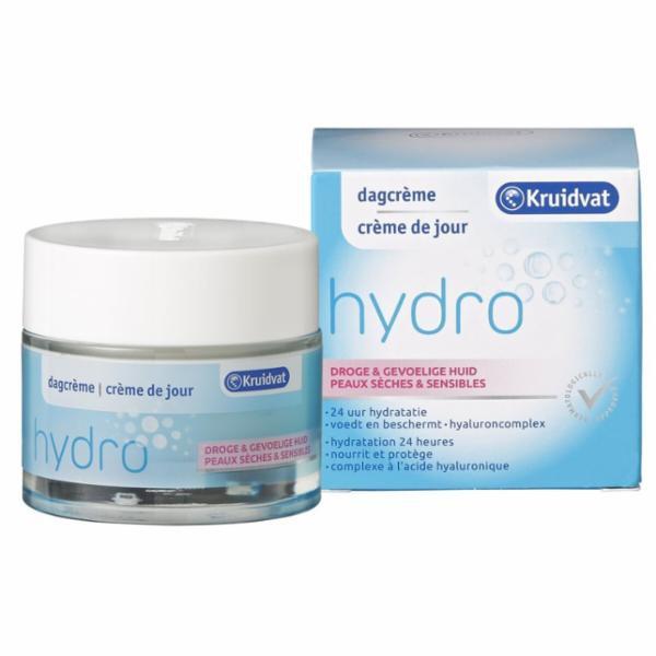 Kruidvat Hydro Dagcrème Voor Droge En Gevoelige Huid