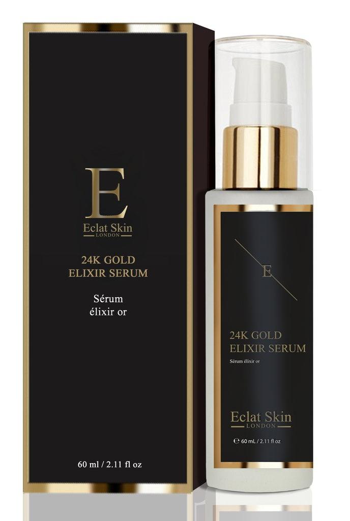 Eclat Skin London Anti wrinkle elixir serum 24k Gold