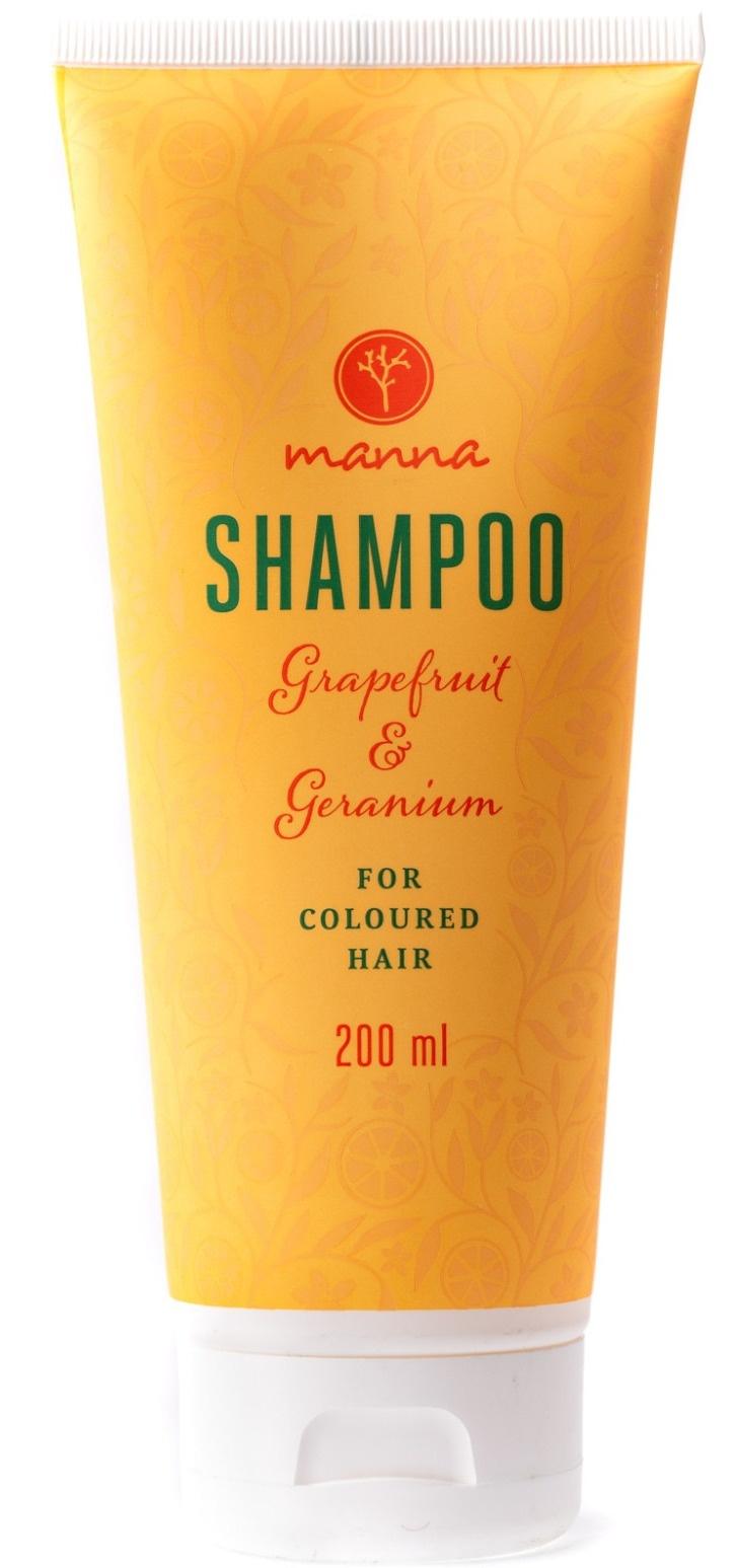 Manna Grapefruit & Geranium Shampoo For Coloured Hair