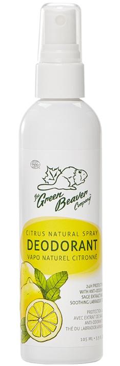 The Green Beaver Company Deodorant Spray - Lemon