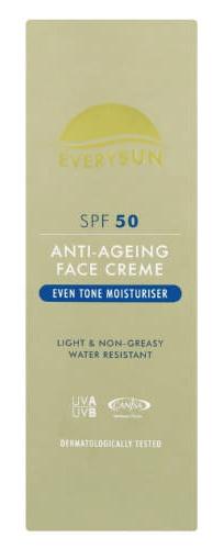 Everysun Anti-Age Spf50 Face Cream