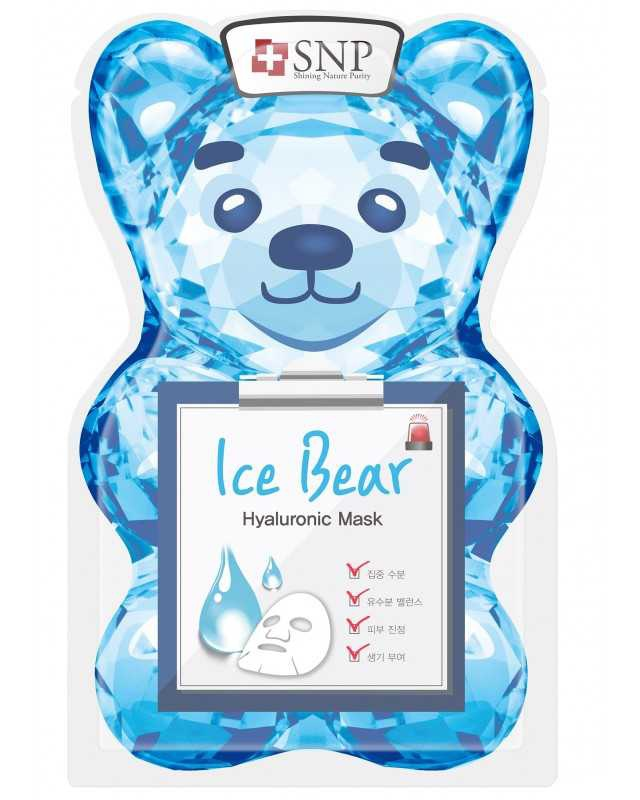 SNP Ice Bear Hyaluronic Mask
