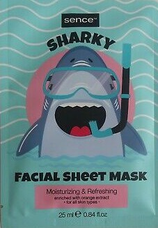 sence Facial Sheet Mask Sharky