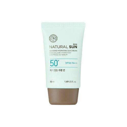 The Face Shop Natural Sun Eco No Shine Hydrating Sun Cream Spf40 Pa+++