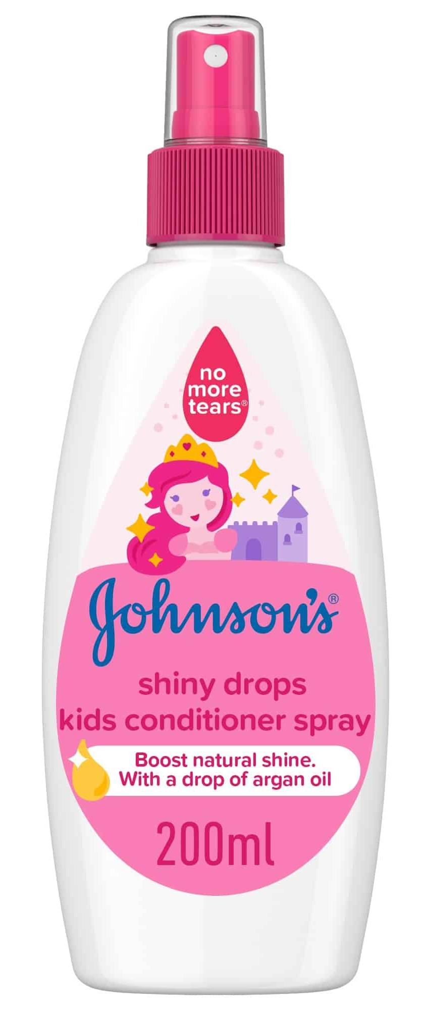 Johnson and Johnson Johnson Shiny Drops Kids Conditioner Spray