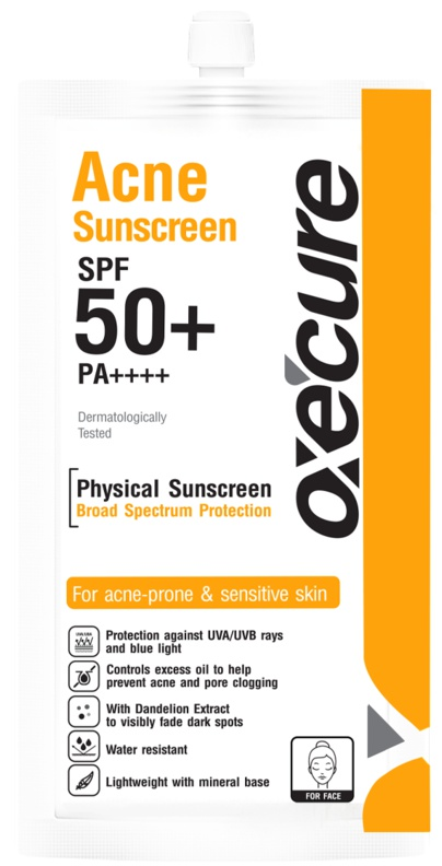 Oxecure Acne Sunscreen SPF 50+/Pa++++