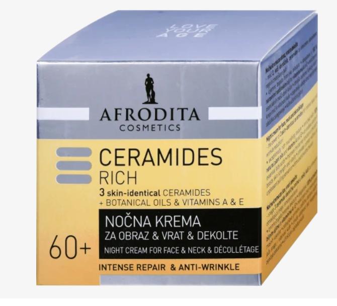 Afrodita Ceramides Rich Night Cream