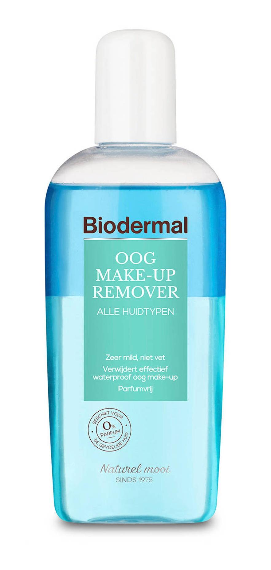 Biodermal Oog Make-up Remover / Eye Make-up Remover