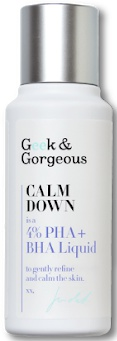 Geek & Gorgeous Calm Down 4% Pha + Bha Liquid