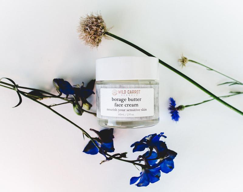 Wild Carrot Herbals Borage Butter Face Cream