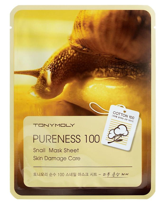 TonyMoly Pureness 100 Mask Sheet - Snail
