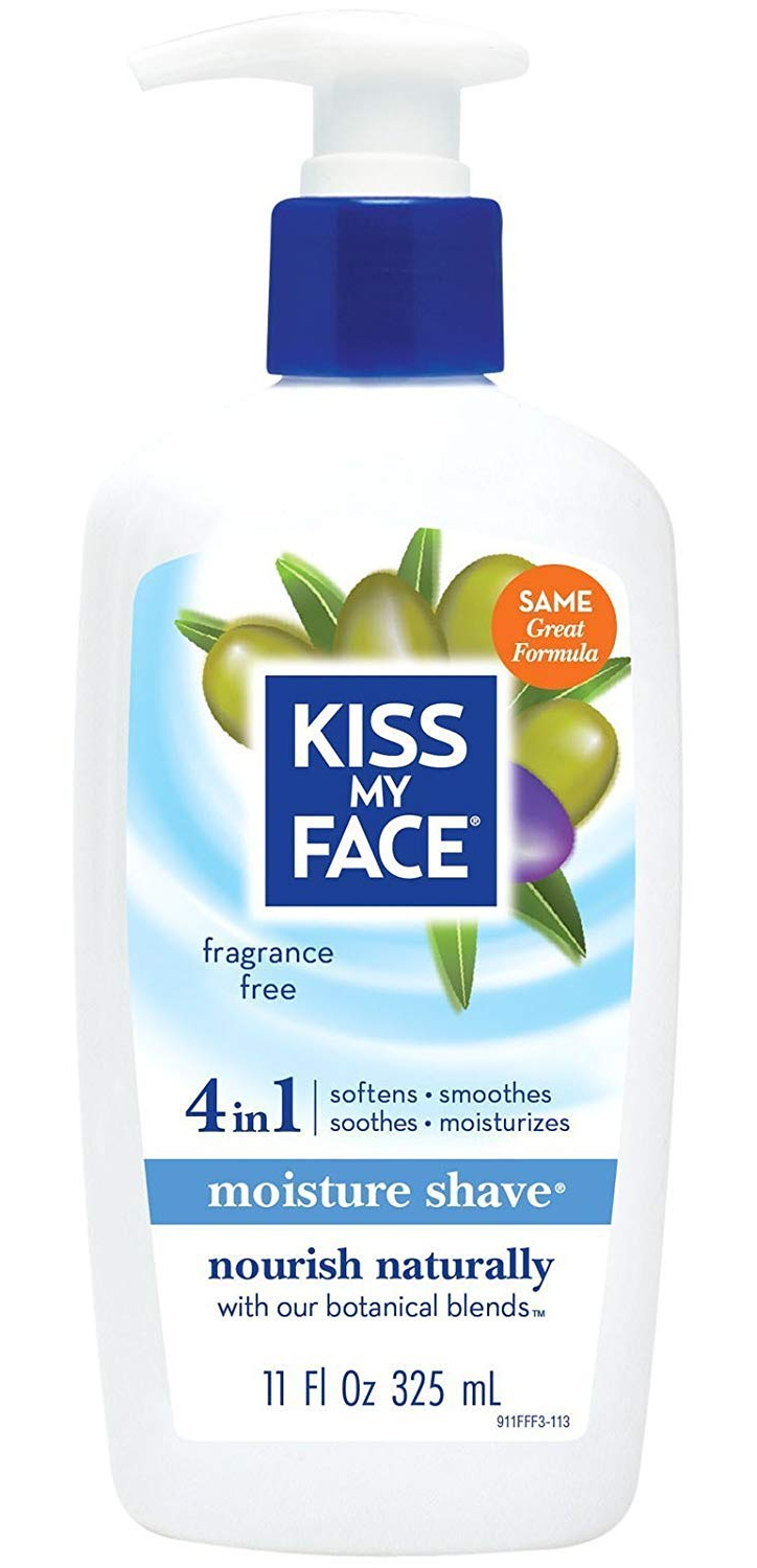 Kiss My Face Moisture Shave Fragrance Free