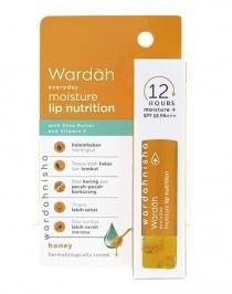 Wardah Everyday Moisture Lip Nutrition Spf 15 Honey