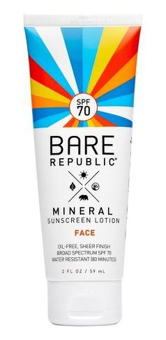 Bare Republic Mineral Sunscreen Lotion SPF 70