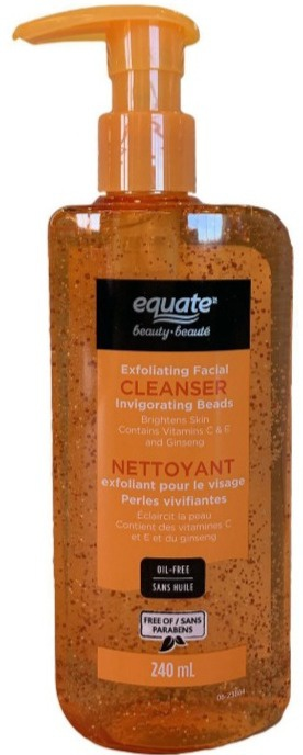 Equate Beauty Exfoliating Facial Cleanser