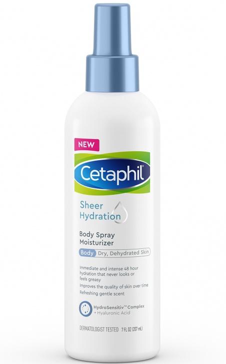 Cetaphil Sheer Hydration Body Spray Moisturizer