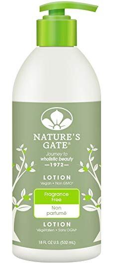 Nature's Gate Fragrance Free Moisturizing Lotion