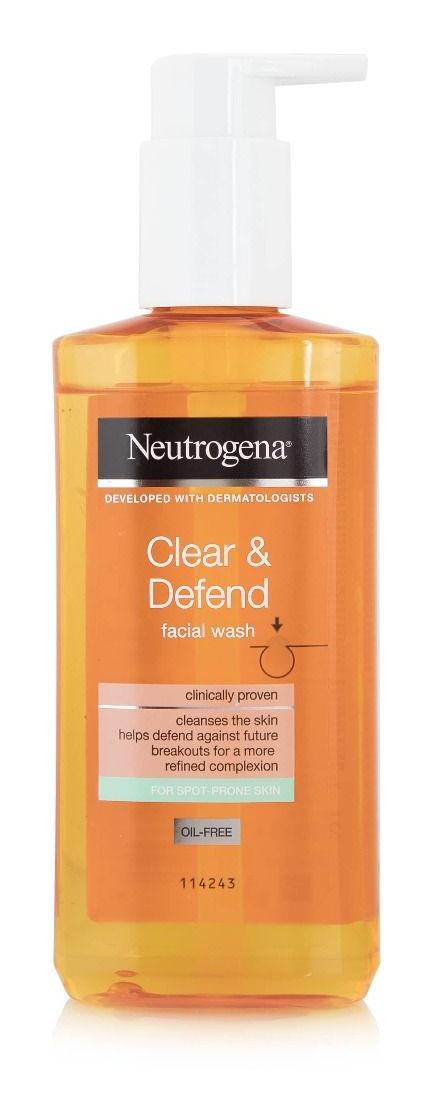 Neutrogena Clear & Defend Facial Wash, Oil-Free