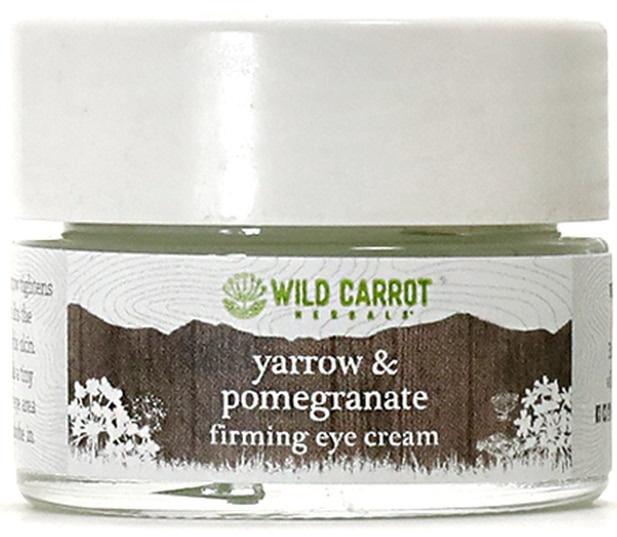Wild Carrot Herbals Yarrow & Pomegranate Firming Eye Cream