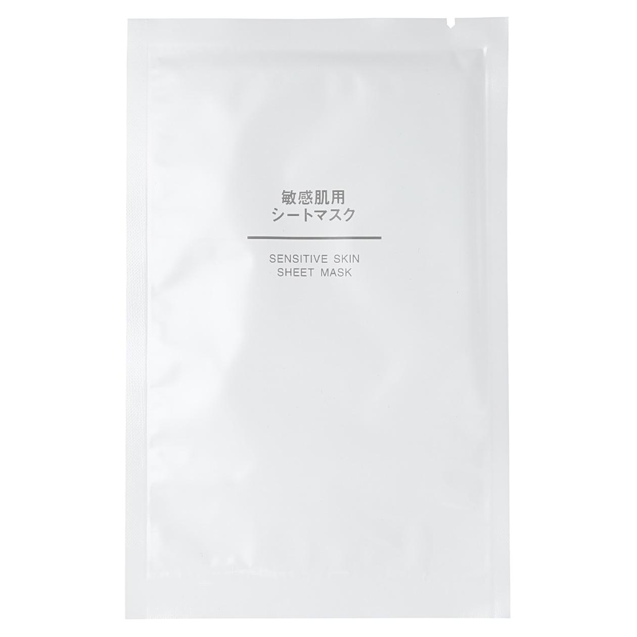 Muji Sensitive Skin Sheet Mask