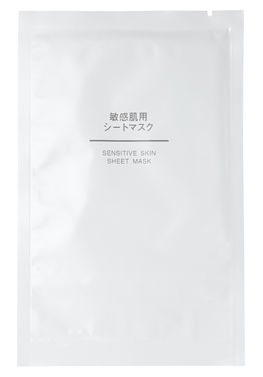 Muji Sensitive Skin Sheet Mask