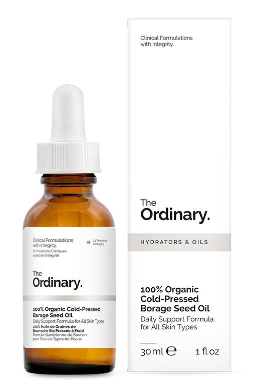 The Ordinary 100% Organic Cold-Pressed Borage Seed Oil