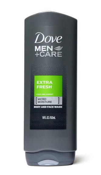 Dove Men+Care Body Wash And Shower Gel Extra Fresh