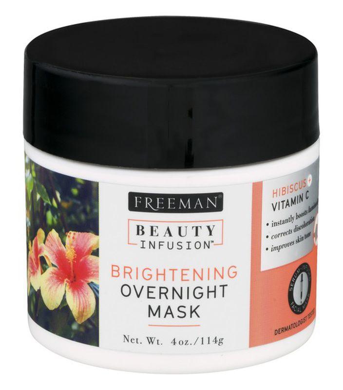 Freeman Beauty Infusion Brightening Overnight Mask Hibiscus + Vitamin C
