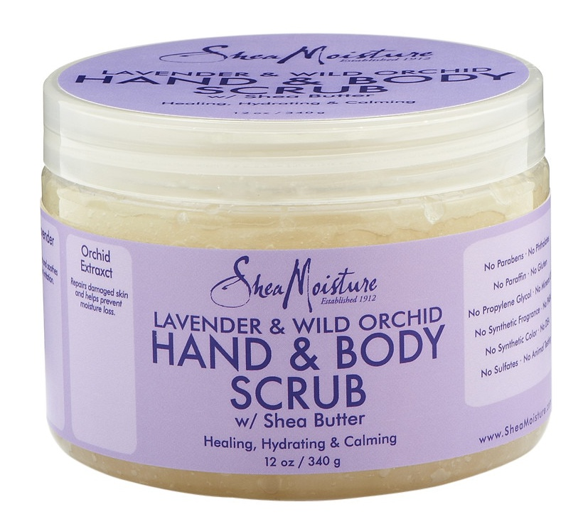 SheaMoisture Lavender & Wild Orchid Hand & Body Scrub