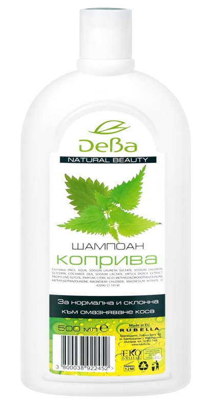 Deva Natural Beauty (Дева) Nettle Shampoo For Normal To Oily Hair