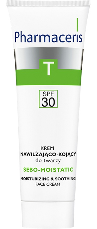 Pharmaceris Spf 30 Moisturizing And Soothing Cream For Face