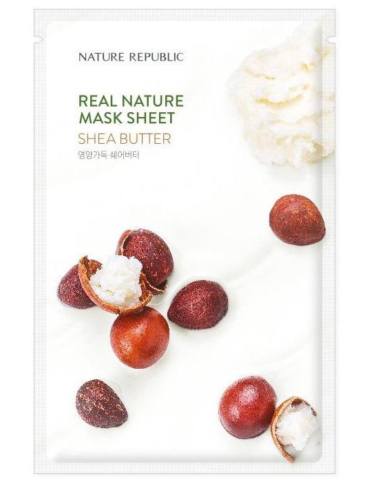 Nature Republic Real Nature Mask Sheet Shea Butter
