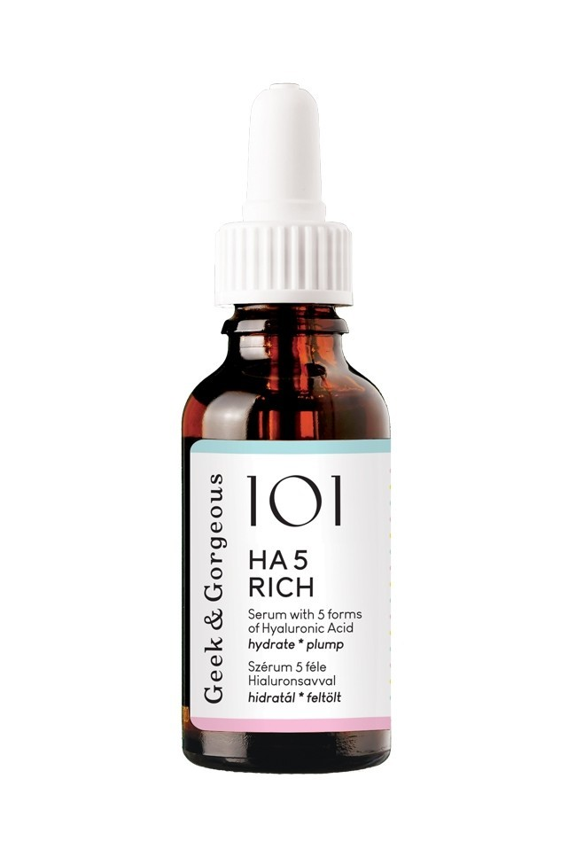 Geek & Gorgeous Ha 5 Rich Hyaluronic Acid Serum