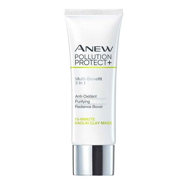 Avon Anew Pollution Protect+ 15-Minute Kaolin Clay Face Mask