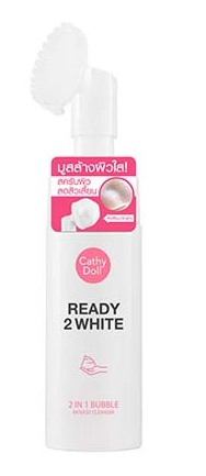 Cathy Doll Ready 2 White 2 In 1 Bubble Mousse Cleanser