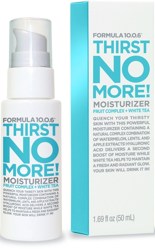 Formula 10.0.6 Thirst No More! Moisturizer