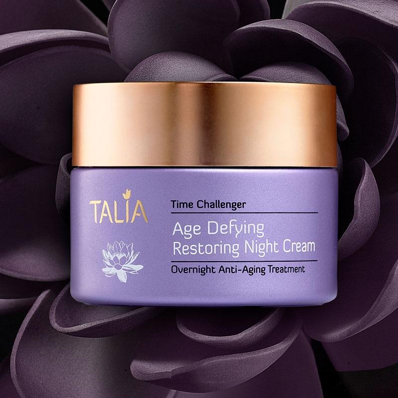 Talia  TIME CHALLENGER Age Defying Restoring Night Cream Ultra-Nourishing Anti-Aging Treatment