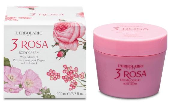 L'Erbolario Body Cream 3 Rosa
