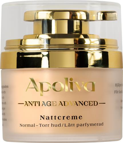 Apoliva Anti-Age Advanced Nattcreme