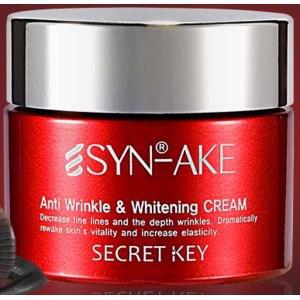 Secret Key Syn-Ake Anti Wrinkle & Whitening Cream
