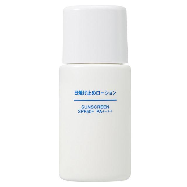 Muji Sunscreen Lotion Spf 50+ Pa++++