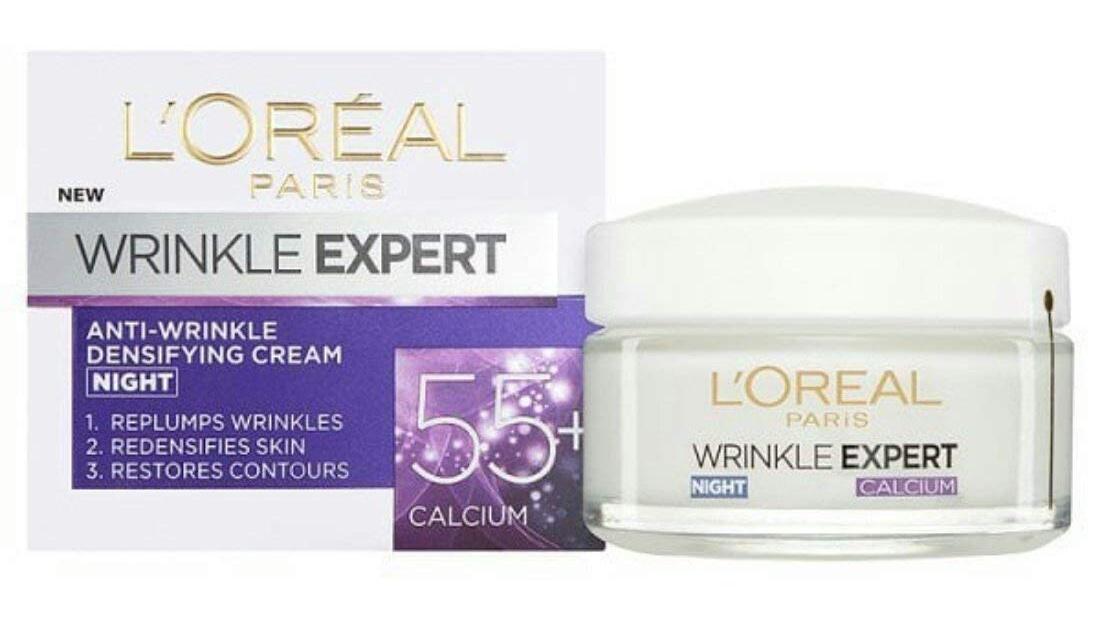 L'Oreal Anti-Wrinkle Night Cream 55+